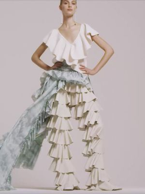 The Most Beautiful Ruffles You'll Ever See, in Under One Minute