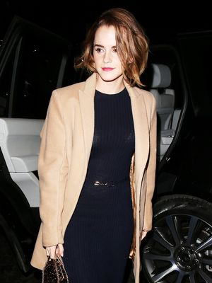 Emma Watson's Styling Trick to Make Classic Pieces Effortlessly Cool