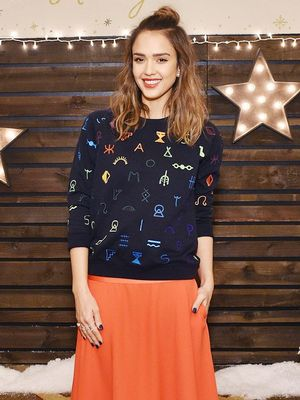 Shop the Playful Sweatshirt Jessica Alba Loves