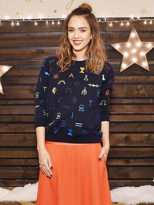 Shop the Playful Sweatshirt Jessica Alba Loves
