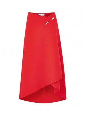 Love, Want, Need: Amanda Wakeley's Red Wrap Skirt