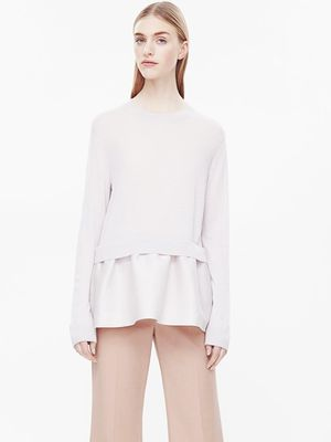 Love, Want, Need: Cos Frill-Hemmed Sweater