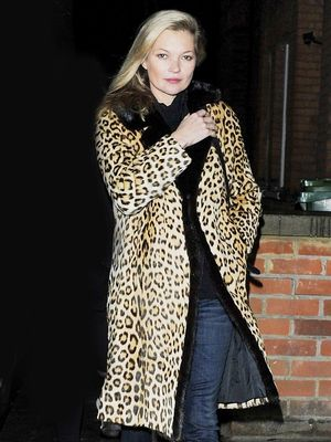 Kate Moss Proves This Coat Never Goes Out of Style