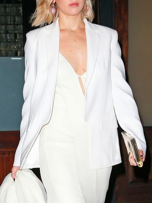 How to Re-Create Jennifer Lawrence's Chic Winter White Look