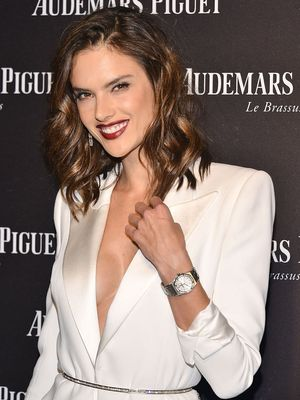Alessandra Ambrosio Shows Us How to Pull Off Winter White