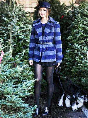 Jamie Chung Went Christmas Tree Shopping, Looked Chic as Ever