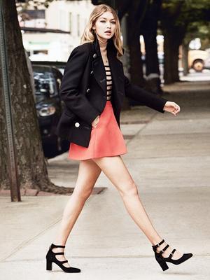 Gigi Hadid Tells Vogue Her 5 Wardrobe Essentials