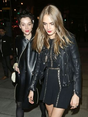 How Cara Delevingne and St. Vincent Dress for a Night Out