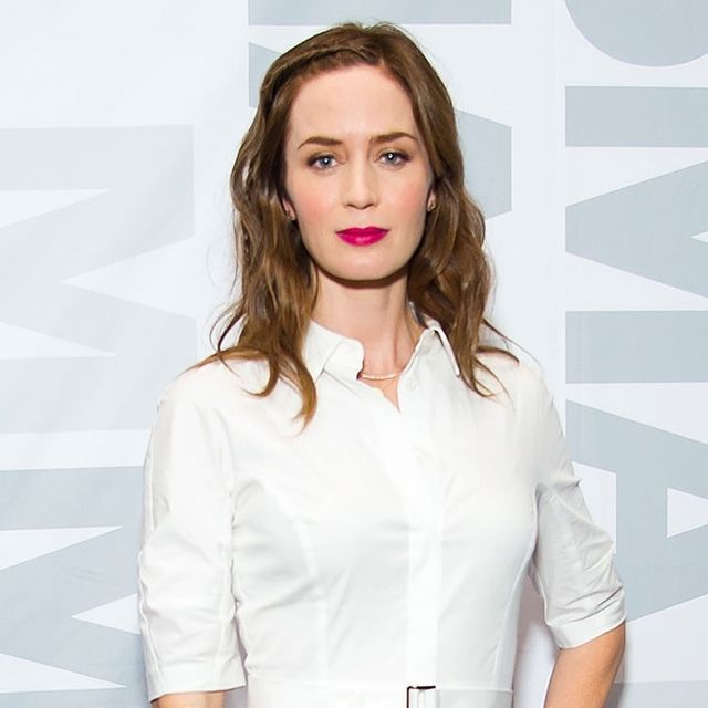 You Need to See Emily Blunt's Statement Shoes