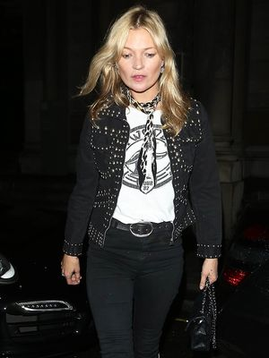 How to Get the Kate Moss Look With a Single Accessory