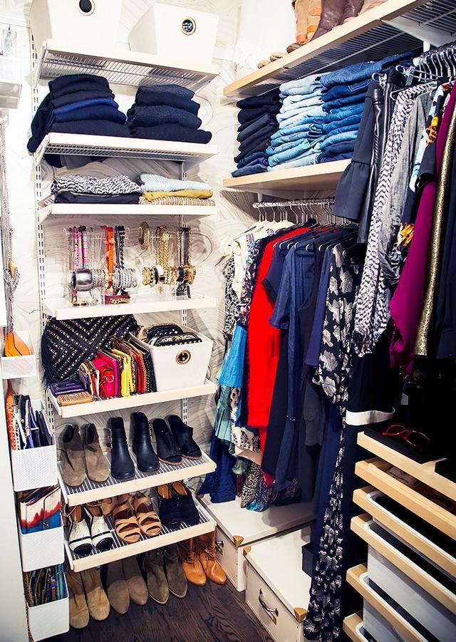 Closet #1: After