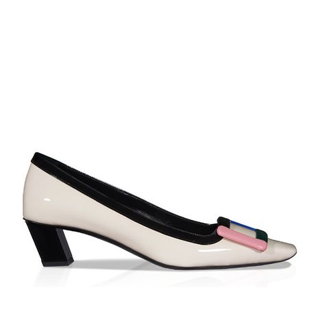 Belle Vivier Pumps in Patent Leather
