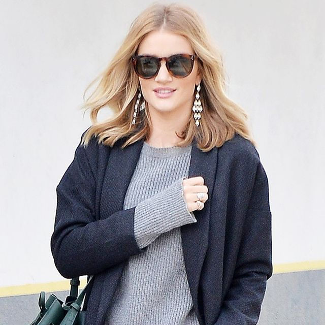 You'll Wear Rosie Huntington-Whiteley's Cool Skinny Jeans All Year Long