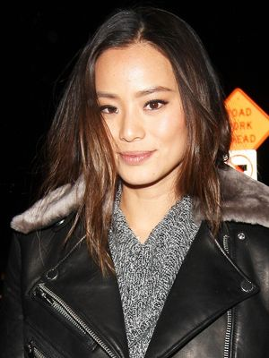 Jamie Chung's Perfect Moto Jacket Looks Triple the Actual Price