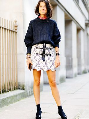 Leandra Medine Wants to Dress How She Did 3 Years Ago and That's Okay By Us