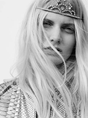 Tiaras and Grunge Reign in Saint Laurent's Spring/Summer 2016 Campaign