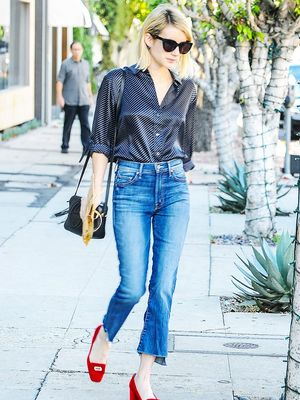 Emma Roberts Just Wore an Outfit You Need to Copy ASAP