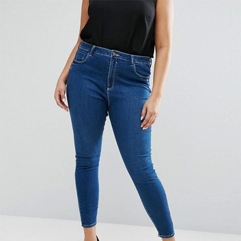 High Waist Ridley Skinny Jean in Hester Wash
