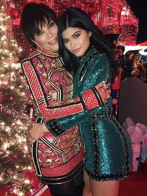 The Best Instagrams From the Kardashians' Christmas Extravaganza