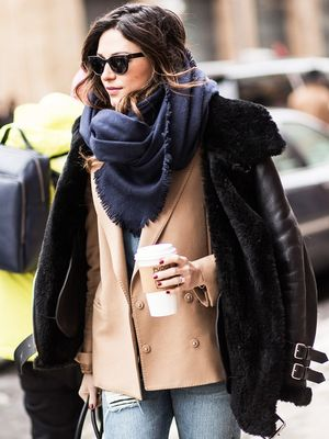 A Winter Style Trick That Maximizes Your Closet for $0