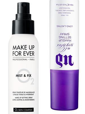 I Put 3 Makeup Setting Sprays to the Test