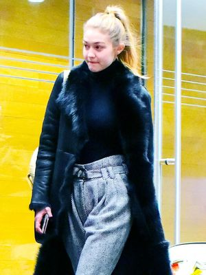 The Winter Coat Trend Gigi Hadid Loves