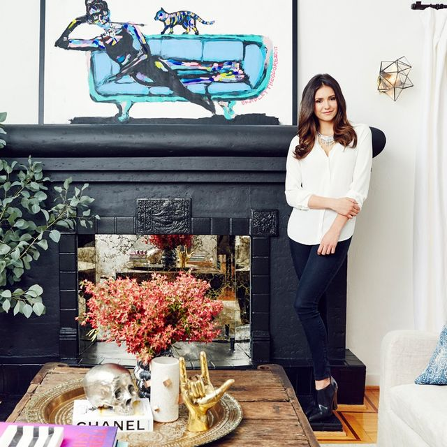 Home Tour: Nina Dobrev's Bright, California-Cool Bungalow