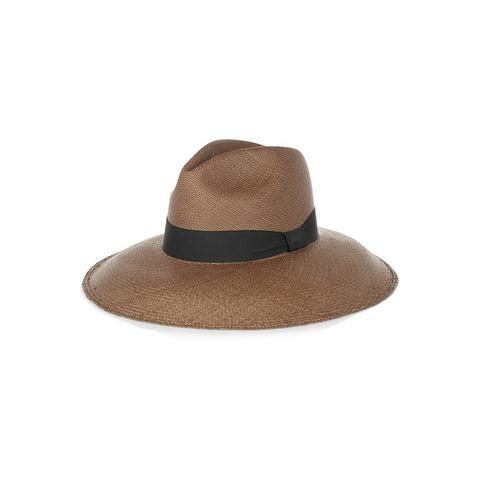 Toquilla straw Panama hat
