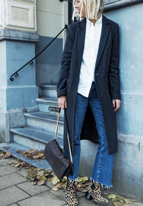 Style Notes:Want to show off your animal-print boots? Cropped jeans will do that for you.