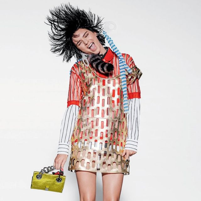 Kendall Jenner Looks Totally Different in Her Quirky New Vogue Shoot