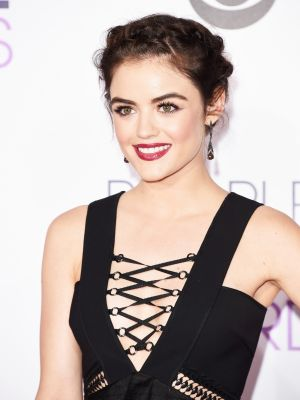 Lucy Hale's Crown Braid Is a Thing of Envy
