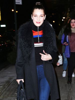 Bella Hadid Wears Dr. Martens, Looks Chic as Ever