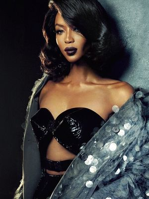 Naomi Campbell Is a Sultry Bombshell for Vogue Portugal