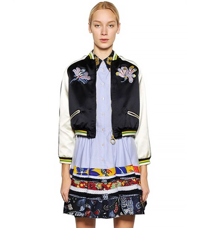 Trend Report: Embroidered Bomber Jackets | WhoWhatWear