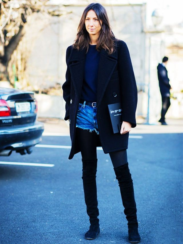 The Perfect Color Combination For Girls Who Always Wear Black Whowhatwear