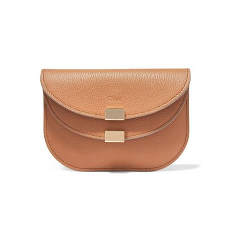 Georgia textured-leather wallet