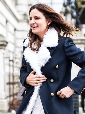 An Incredibly Chic Double-Coat Look to Try Now