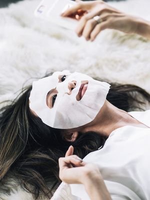 9 Sheet Masks to Try While Everyone Else Watches the Super Bowl This Weekend
