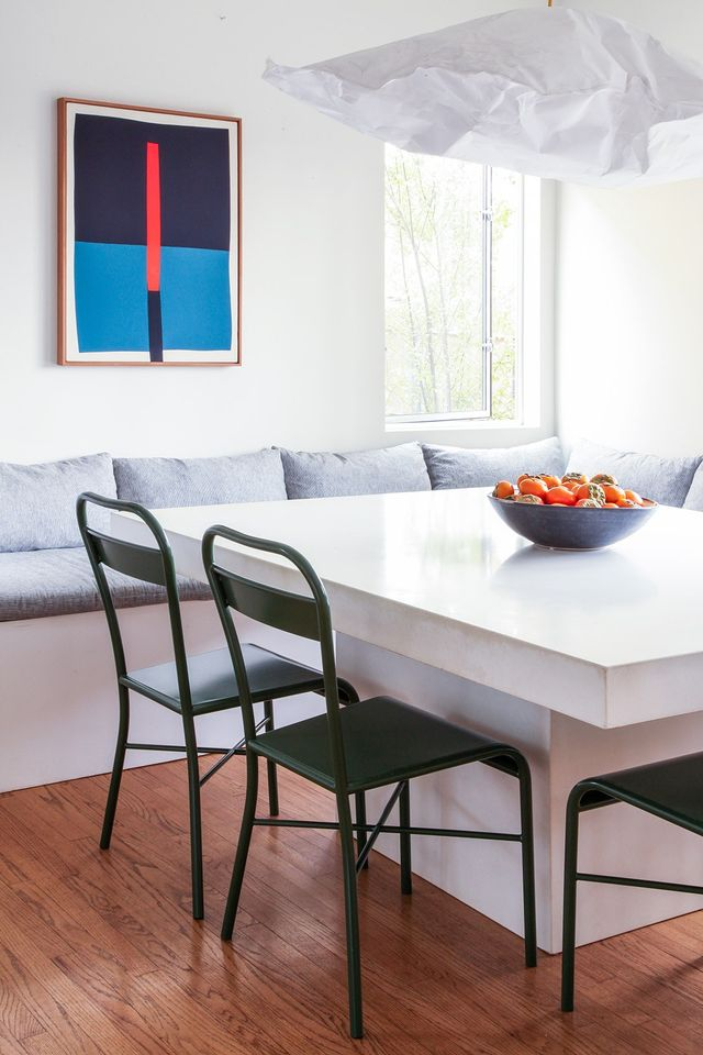 Appel, Harris, and Heron focused on creating spaces in the home that used color to set the mood, from higher energy colors in the kitchen and living room to calmer colors for the bedrooms and...