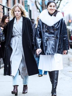 The Double Coat Situ: Fashion Editors Go Drastic This Winter