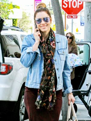 Jessica Biel's Versatile Tank Dress Is on Sale for $63