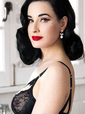 "Dita Von Teese Says This Lipstick ""Will Last Through Anything"""
