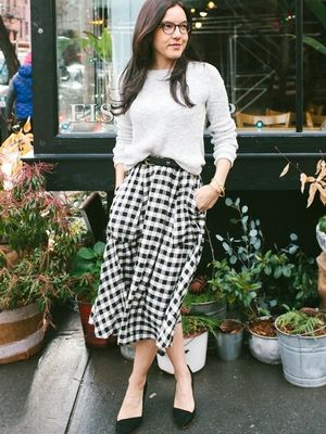2 Effortless Ways to Wear Buffalo Check