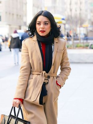 The Vanessa Hudgens Coat All Classic Girls Will Want