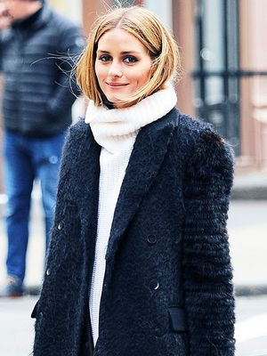 The Sneakers Olivia Palermo Wears Shopping in NYC