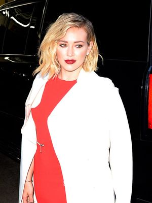 Check Out Hilary Duff's New Lilac Hair