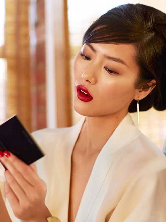 Estee lauder celebrity models pics