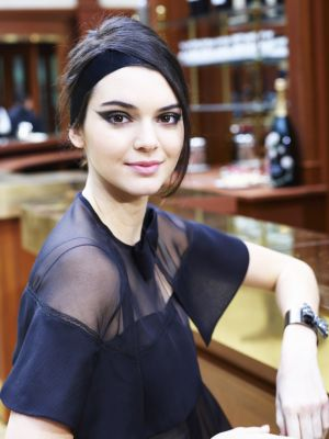 Kendall Jenner Shows Off a New Eye Color