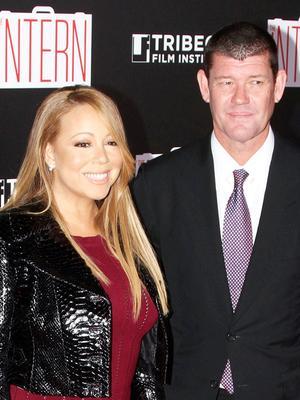 Congrats! Mariah Carey's Massive Engagement Ring Is 35 Carats