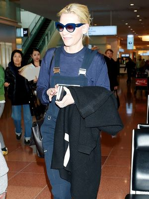 Cate Blanchett Just Wore $1325 Sneakers to the Airport